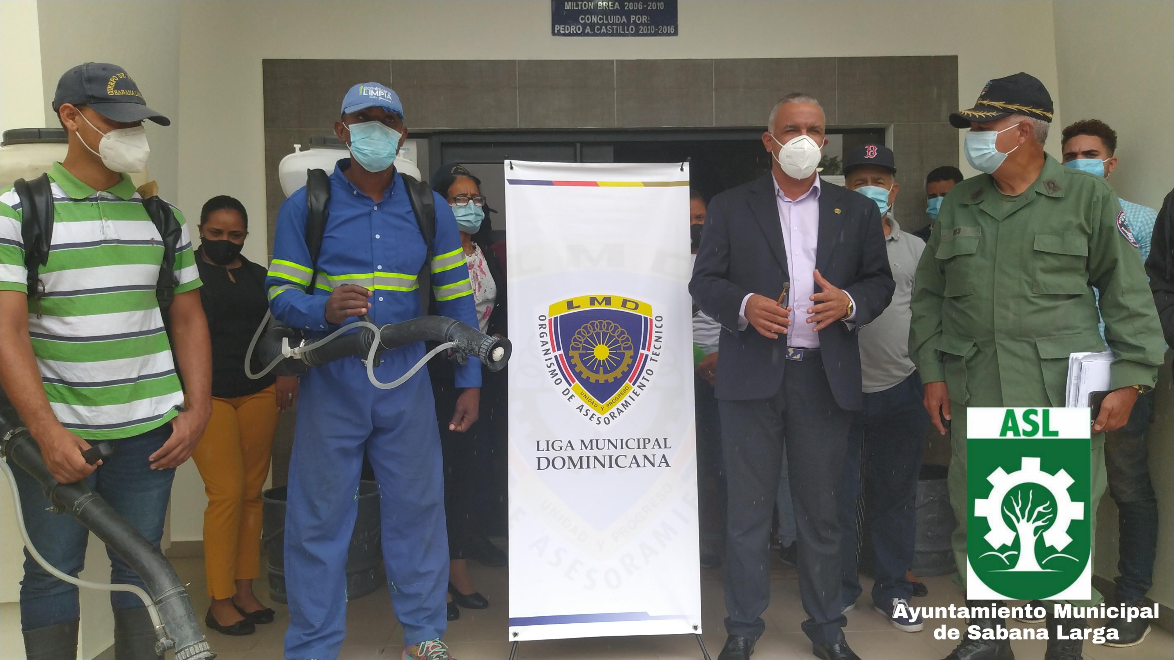 Jornada de Fumigación en todo el Municipio de Sabana Larga