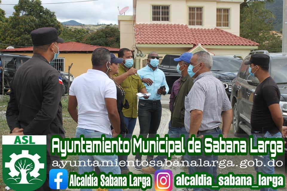 Alcaldía de Sabana Larga Recibe Comisión de Ingenieros del Ministerio de Obras Publicas