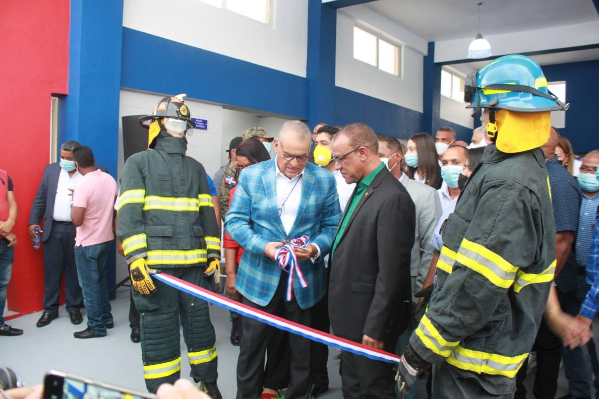 Alcaldía de Sabana larga Realiza Acto de Inauguración del Cuartel Del Cuerpo de Bomberos