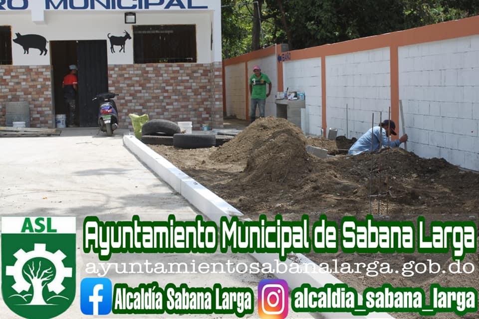 Alcaldía de Sabana Larga Continua Realizando Los Trabajos de Construcción del Matadero Municipal