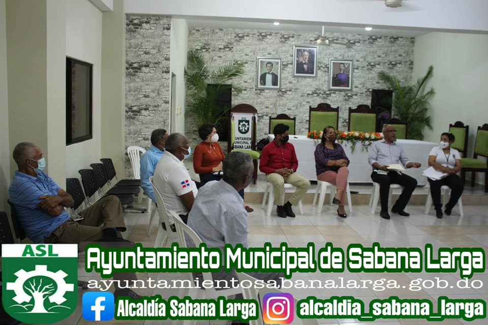 Alcaldía Sabana Larga Continua Realizando Reuniones con Autoridades