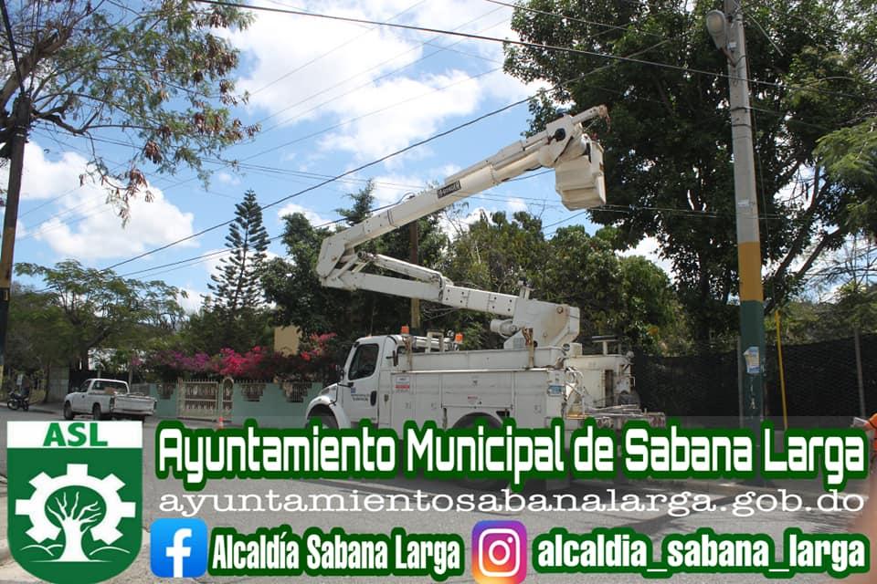 Operativo Eléctrico Para la Mejora del Voltaje en el Municipio de Sabana Larga