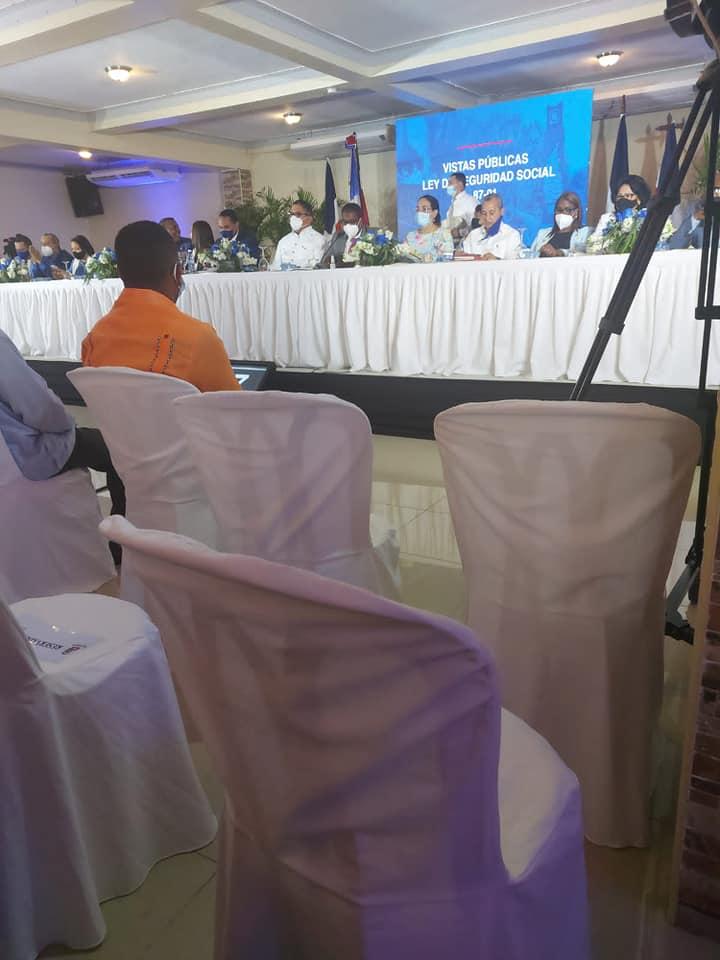 Participación en la Vista Publica de Comisión Bicameral